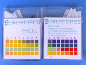 PAPEL INDICADOR DE PH 0 -14